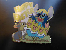 Disney Trading Pins 31458 WDW - Happy Easter 2004 (Stitch & Thumper) Pink Variat