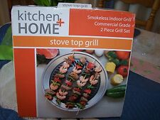 Kitchen   Home Stove Top Smokeless Grill Indoor BBQ Commercial Grade