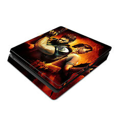 Skin Decal Cover Sticker for Sony PS4 Slim - Resident Evil 1