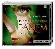 Die Tribute von Panem. Tödliche Spiele von Suzanne Collins 6 CDs