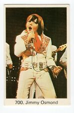 1970s Swedish Pop Star Card  #700 US Osmonds Singer Little Jimmy Osmond