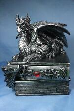 Dragon Statue Dragon Sculpture Dragon Trinket Box Treasure Box Books Large New