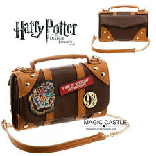 Harry Potter Hogwarts PU School Badge Wallet Package Christmas Gift Collectibles