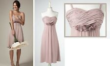 NWT $228 BODEN COCKTAIL PARTY WEDDING ORCHID PINK SILK CONFETTI DRESS -SIZE US 4