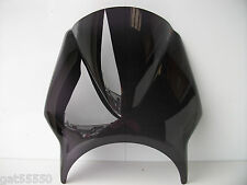 NEW PUIG DARK SMOKED MOTORCYCLE UNIVERSAL FLY SCREEN GS CB GSF ZR ER CBF CUSTOM