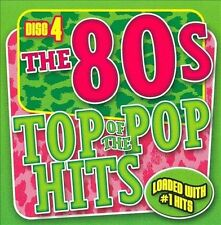 VARIOUS ARTISTS Top Of The Pop Hits - The 80S - Disc 4 CD