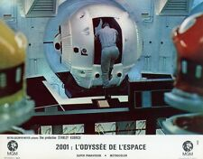 2001 A SPACE ODYSSEY STANLEY KUBRICK 1968 VINTAGE PHOTO FRENCH LOBBY CARD N°9