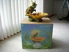 Disney Store TINKER BELL home and garden Bird Bath, Candy/Dish Bowl NEW!!!!!!!