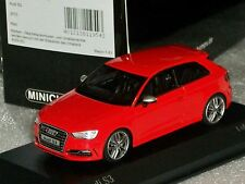 AUDI S3 RED 2013 MINICHAMPS 437013020  1:43