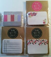 Target Dollar One Spot Lot - confetti to-do sticky notes page flags planner memo