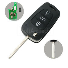 Flip Key 433MHz with Chip fit for HYUNDAI i30 ix35 Flip Remote Key Fob 3B DA1500