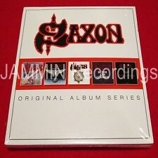 SAXON - ORIGINAL ALBUM SERIES - 5 CD BOX SET - FACTORY SEALED