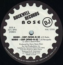 "★★ 12"" US BASS** BOSE  - ROBO-COP ** (ROCKWELL PROMO'88)★★8085"
