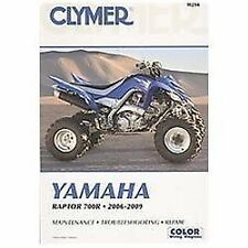 2006 2007 2008 2009 Yamaha Raptor 700R Clymer Repair Service Shop Manual M290