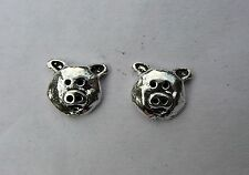 Pair Of Sterling Silver  925   Pig   Ear Studs  !!        Brand  New  !!