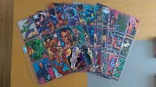 1995 Marvel Vs DC Complete 100 Card Base Set Nm/Mint