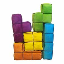 Tetris 3D Cusion Pillows, Set of 5 Shapes - Brand New