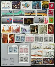 D922 CANADA 1978 Complete Year Set of 35 postage stamps + 1 S/S, Mint NH