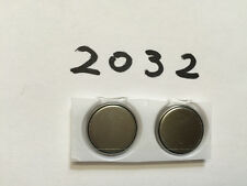 3v Lithium Coin Batteries CR2032 DL2032 BR2032 ECR2032 High Quality New x2