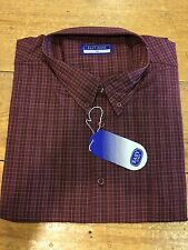 Easy Jeans King Size Check Shirt/Red - 2X