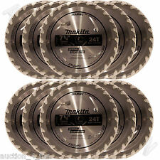 "10 Makita D-45989 7-1/4"" Carbide 24T Framing Circular Saw Blade Bulk for DW3578"