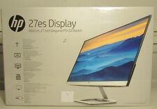 "New HP 27"" IPS LED HD 27es 1080p Monitor - Natural silver - T3M86AA#ABA"