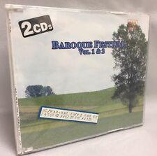 Baroque Festival Vol. 1 & 2 CD (Two CD set) German Import NEW Crack on Back Case