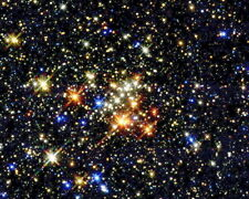 New 11x14 Space Universe Photo: Young Stars Inside the Milky Way Galaxy