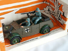 VINTAGE / RETRO, BRITAINS WW2 GERMAN SCOUT CAR, WITH ORIGINAL BOX, FREEPOST.