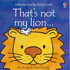 That's Not My Lion (Usborne Touchy Feely Books), Wells, Rachel Board Book