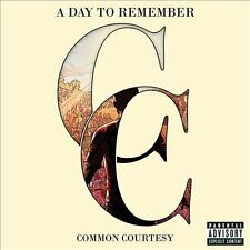 Common Courtesy [CD/DVD] [PA] by A Day to Remember (CD, Nov-2013, 2 Discs,...