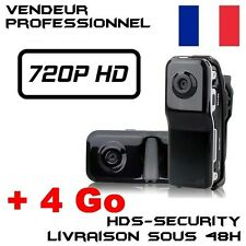 MINI DV CAMERA SPORT MD80 HD 720P + MICRO SD HC 4 GO DETECTION ESPION 1280x720