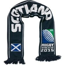 Scotland 2015 Rugby Union World Cup Knitted Scarf, Hosts England IRB