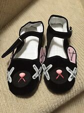 Emnsprout bunny chaussures uk 5 cute kawaii pastel goth fairy kei
