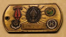 US Special Operations Command Gen Peter J Schoomaker Army Challenge Coin