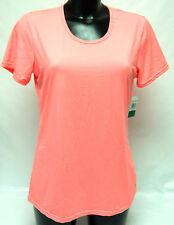 Weatherproof 32 Degrees Cool Neon Coral T-shirt XL Quick Dry Sports Running Top