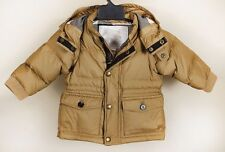 Burberry Children NOVA CHECK Coat Size 6 M -68 Cm .100% AUTHENTIC