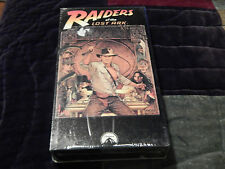 Raiders of the Lost Ark (NEW)(VHS) + Temple of Doom - Paperback (FREE SHIP)