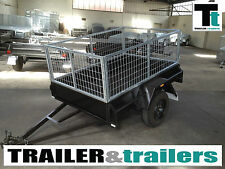 Cage Trailer 6x4 Heavy Duty 2ft Cage -  *NEW TYRES*