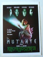 LA MUTANTE (AFFICHETTE SYNOPSIS) Ben KINGSLEY / Michael MADSEN
