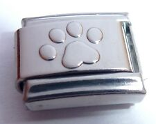 PAW PRINT Italian Charm I Love my Cat Dog Pet for 9mm Classic Starter Bracelets