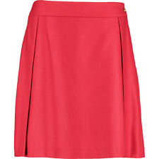 VIVIENNE WESTWOOD Red Label Red Wool Pleated Skirt BNWT