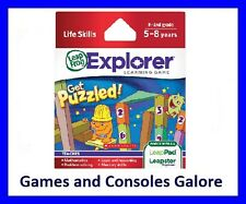 NEW! Leap Pad / Leapster Explorer Get Puzzled Leapfrog LeapPad, LeapsterGS Maths