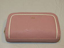 Ralph Lauren Cosmetic pouch travel CAS-CO Tea Rose Dorset 432534586004 Zip NWT^^