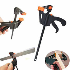 """4"""" F Shape Woodworking Clip Quick Grip Clamp Carpenter Tool For Handmade"""