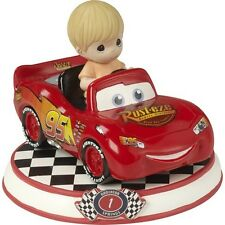 $ New PRECIOUS MOMENTS DISNEY Figurine CARS PIXAR MOVIE Lightning McQueen Boy