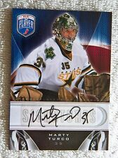 Dallas Stars Marty Turco Signed 09/10 BAP Be A Player Card Auto