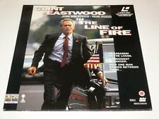 LaserDisc ~ In the Line of Fire ~ Clint Eastwood ~ Double Disc ~ PAL ~ Columbia