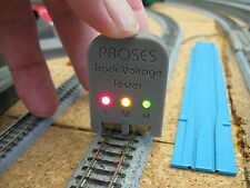 HO, N, Z Scale - Proses - 2 Rail Track Voltage Tester - New