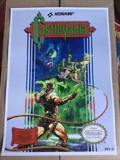 Nes 8 Bit Retro Castlevania Game Poster Print In A3 #retrogaming This A Poster